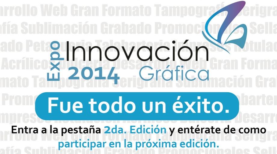 Expo innovacion grafica 2014