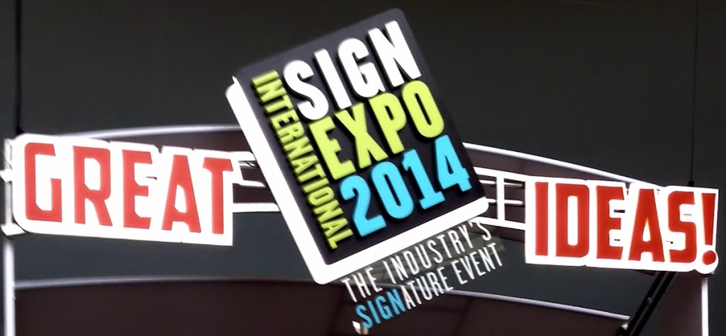 sign expo 2014