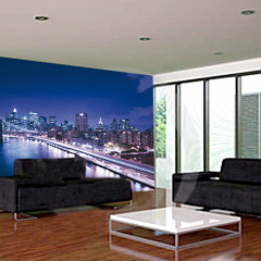 sala-de-estar-moderna-con-la-pared-verde-19059163